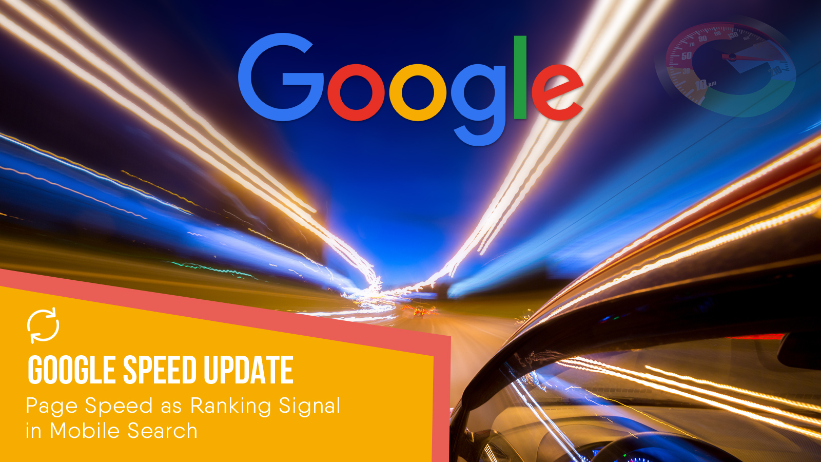 Google Page Speed Update