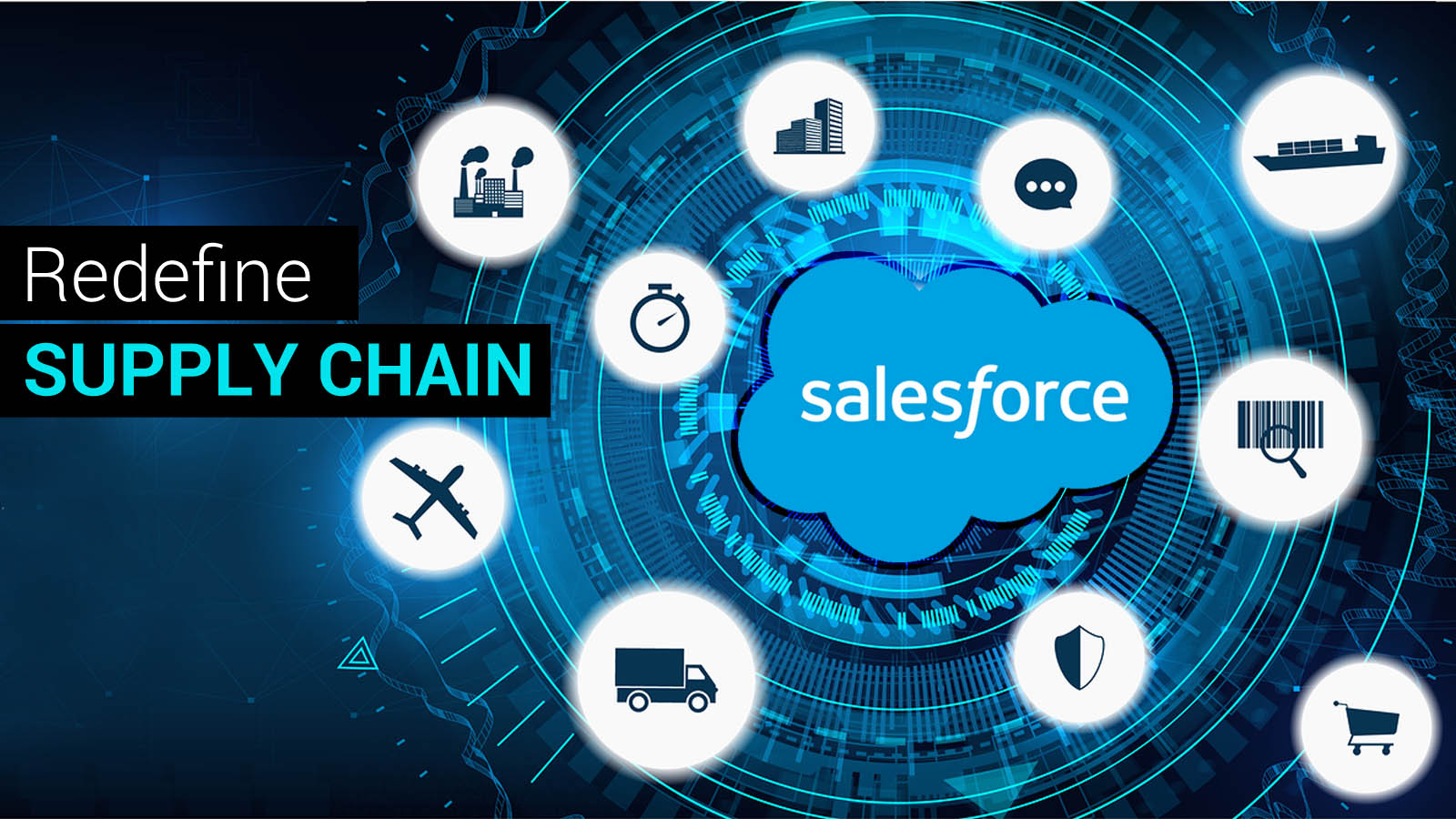 Salesforce For Efficient Supply Chain
