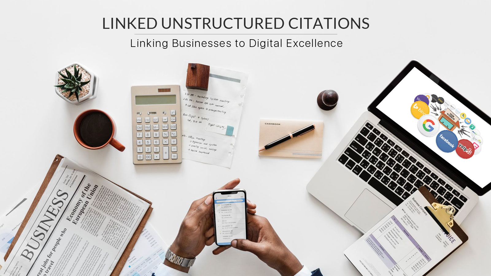 Linked-Unstructured-Citations